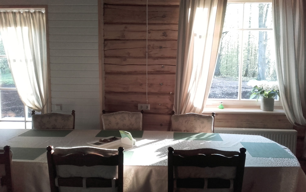 Stikāni_Guesthouse, living room, Bed_and_Birding, Latvia
